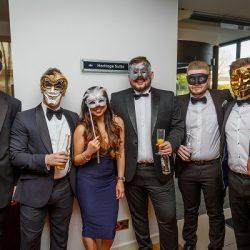Rhys Gillings, Ben Cotton, Ani Abello, Tom Swinson, Adam King, Dave Reed & Rachel Kraan at Compass Associates End of Year Ball 2017