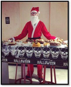 Andrew Halloween bake off