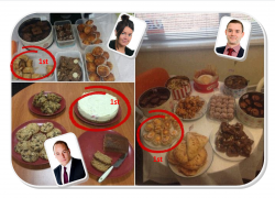 Compass Associates charity day bake off for PC Project 2015