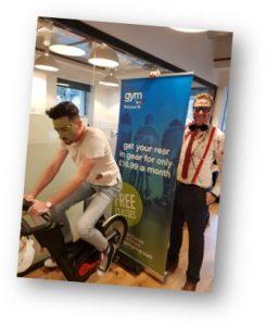 Ben Warnes bike ride 2018