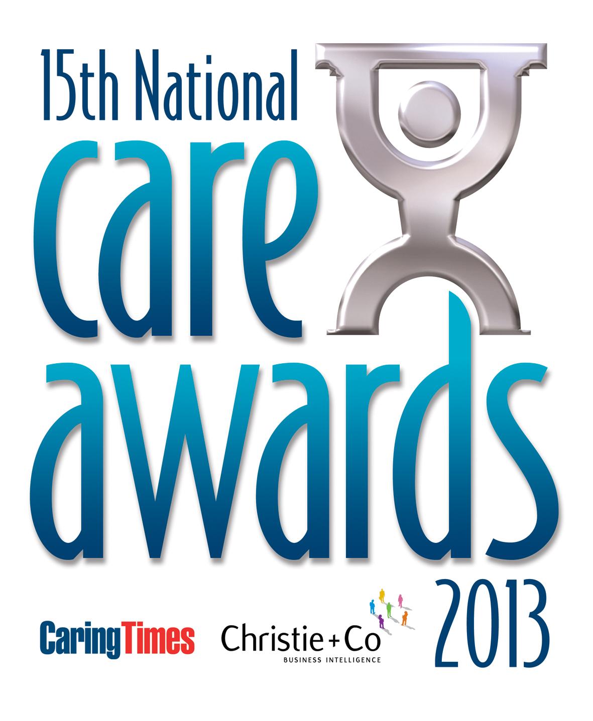 National Care Awardsn 2013