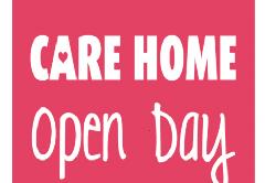 Care Home Open Day Logo 2018