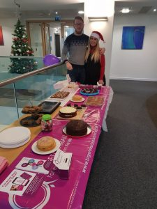 Emily and Andrew Compass Associates Manchester Bake Off 2017