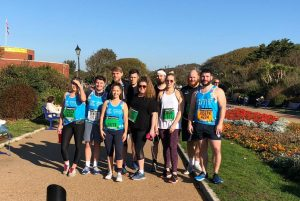 Great South Run 2018 team