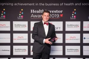 HealthInvestor 2019 Sam Leighton-Smith Win