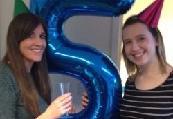 We are 5 Maria and Lily 5th Birthday Compass Associates