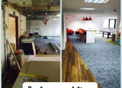 Compass Associates Admiral House refurb 2015 before and after