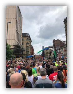 Manchester 10k course 2019