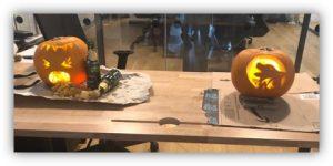 Pumpkin carving comp