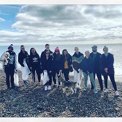 Southsea Beach Clean